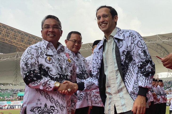 Banjarbaru Mayor awarded Dwija Praja Nugraha