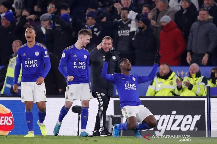 Liga Inggris:  Leicester gusur Man City lagi