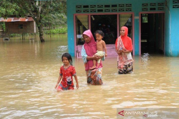 Empat kecamatan di Kabupaten Aceh Barat terendam banjir