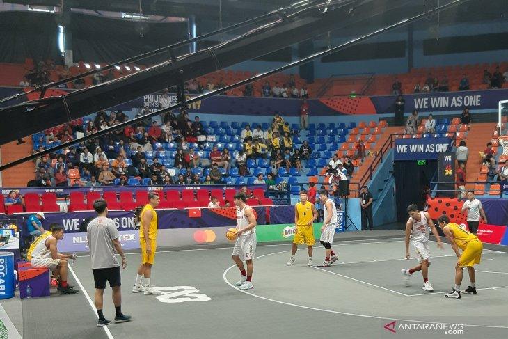 Tim Indonesia raih perak basket 3X3 SEA Games 2019