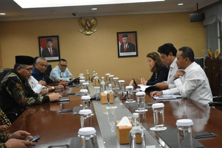 Plt Gubernur Aceh bertemu Kepala BKPM bahas KEK Arun