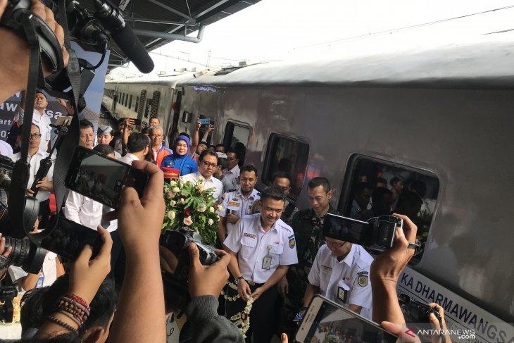 KAI luncurkan KA Dharmawangsa relasi Pasar Senen - Surabaya Pasar Turi