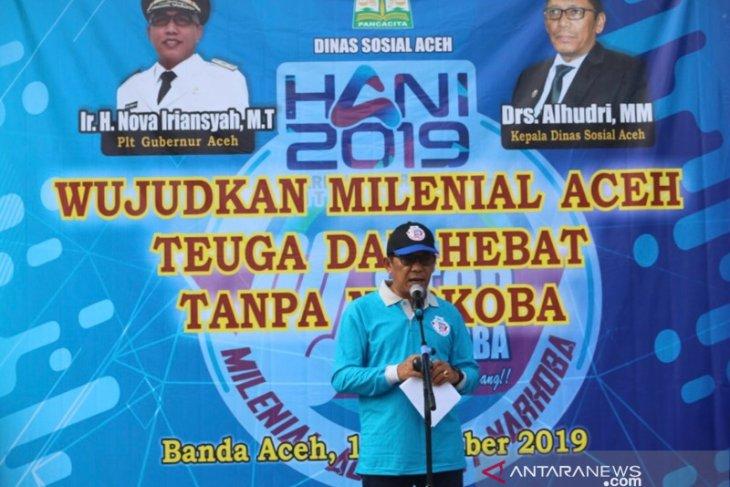 73 ribu penduduk Aceh pengguna narkoba