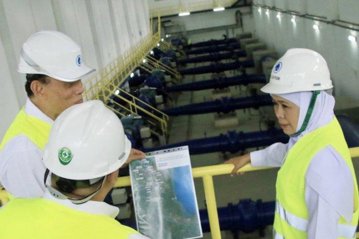 Akhir 2019, distribusi air dari SPAM Umbulan Pasuruan mulai beroperasi