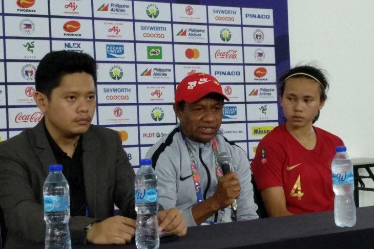 Timnas sepak bola putri tersingkir dari SEA Games