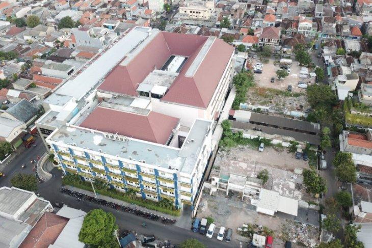 Pembangunan gedung baru RSUD Dr Soewandhie Surabaya dimulai