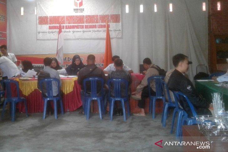 Pendaftaran Panwascam tiga kecamatan belum penuhi kuota