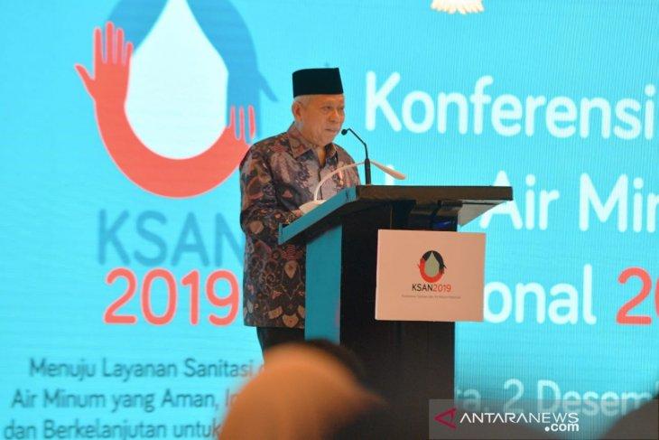 Wapres dukung peluang investasi untuk penyediaan air aman