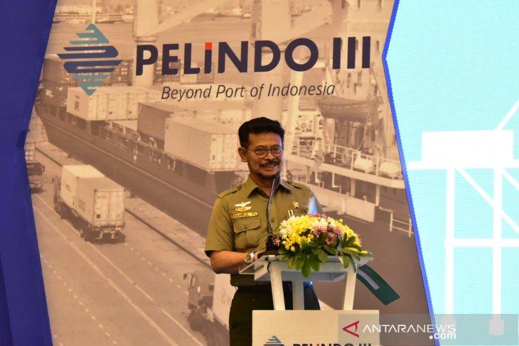 Kementan-Pelindo III bersinergi genjot ekspor tiga kali lipat