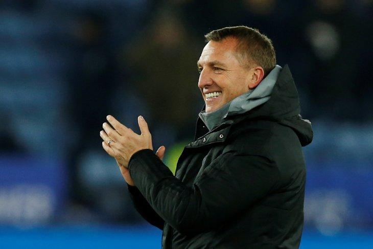 Brendan Rodgers terus bersama Leicester