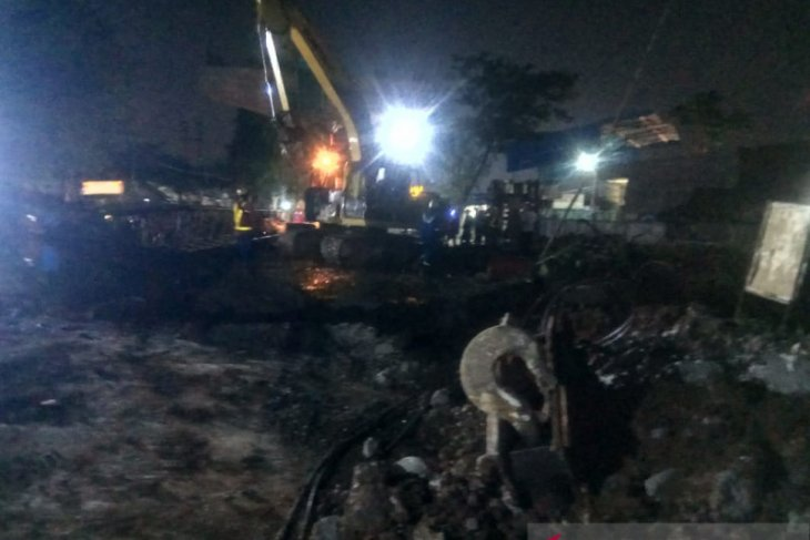 Pascacrane patah, Jalan Sholeh Iskandar kembali normal