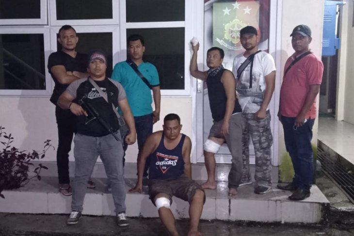 Polisi Langkat terpaksa tembak kaki pencuri mobil karena melawan petugas