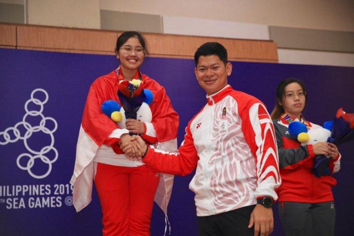 SEA Games 2019: Vidya Rafika bawa cabang menembak penuhi target tiga emas