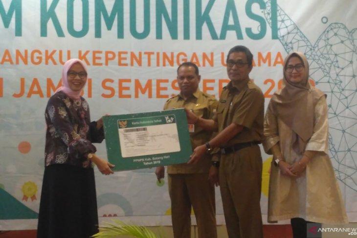 Kabupaten Batanghari pendukung terbanyak JKN-KIS melalui regulasi di Jambi