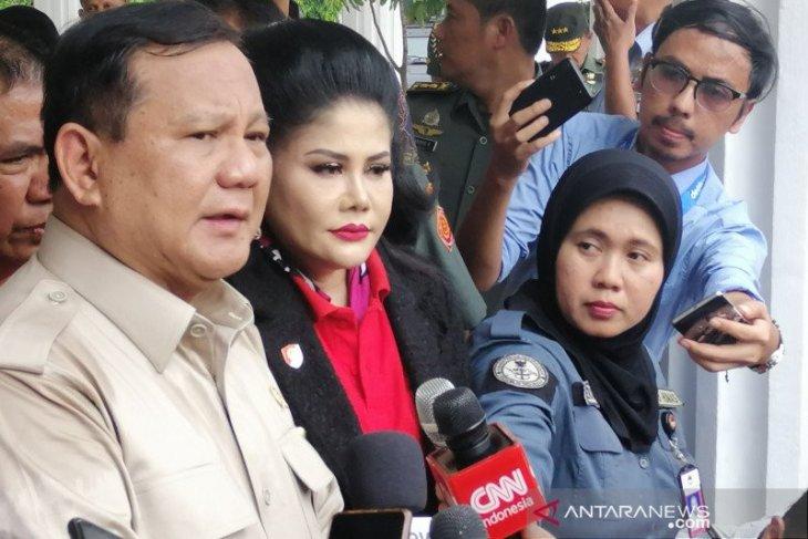 Ketua Umum DPP Partai Gerindra Prabowo tunjuk lima jubir khusus