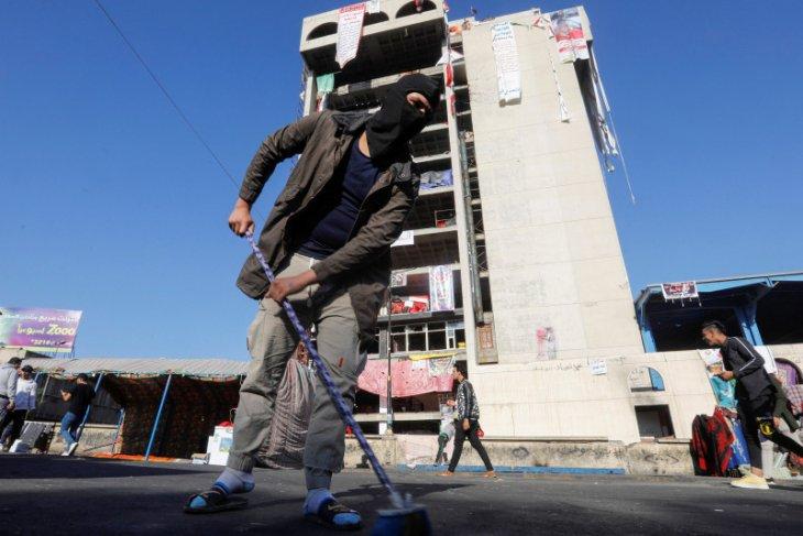 Jumlah korban tewas dalam serangan para pemprotes di Baghdad jadi 23
