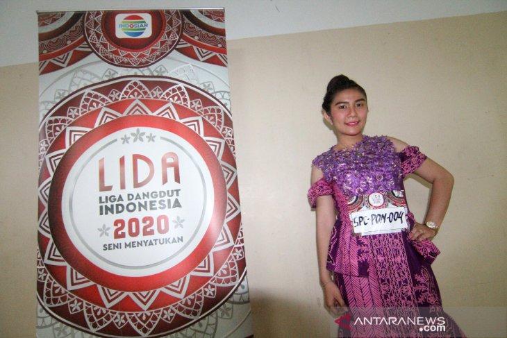 Audisi Liga Dangdut Indonesia (LIDA) 2020 di Pontianak