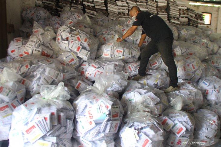 Pembongkaran kotak suara Pemilu di Malang