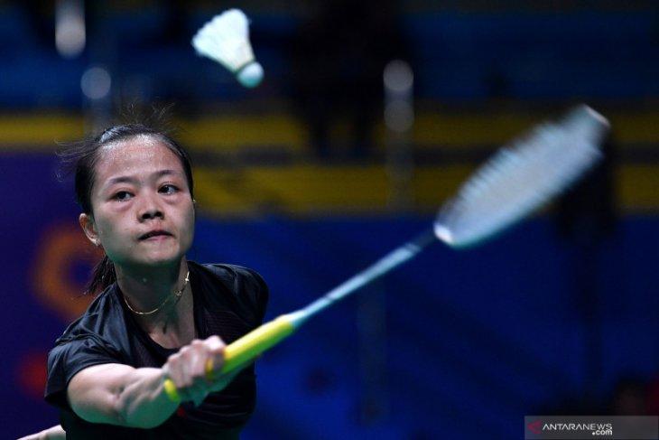 Bulu tangkis - Fitriani tersingkir di awal Indonesia Masters setelah gagal atasi Han