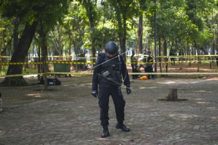 Two TNI personnel become eye witnesses of Monas Square blast