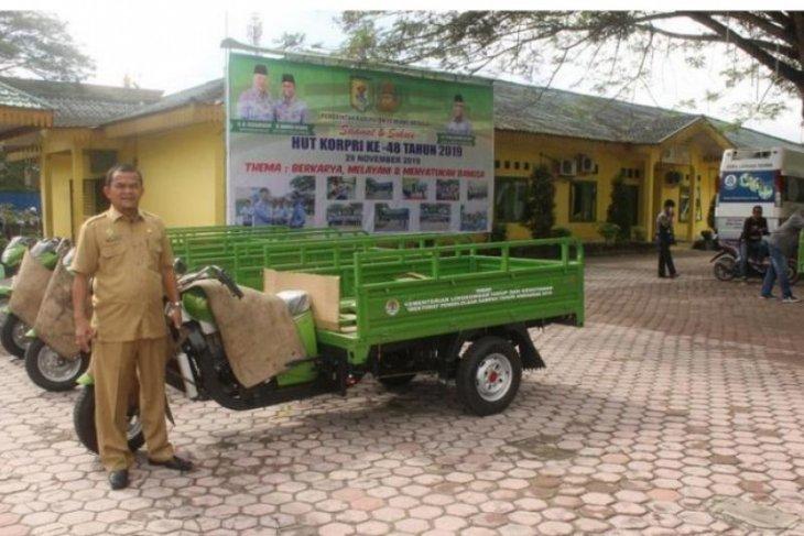Serdang Bedagai dapat bantuan motor pengangkut sampah dari KLHK