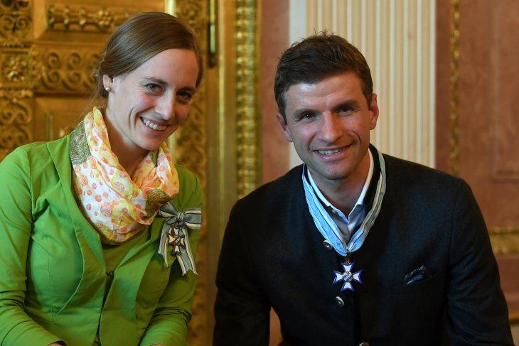 Thomas Mueller terima penghargaan Order of Merit Bavaria