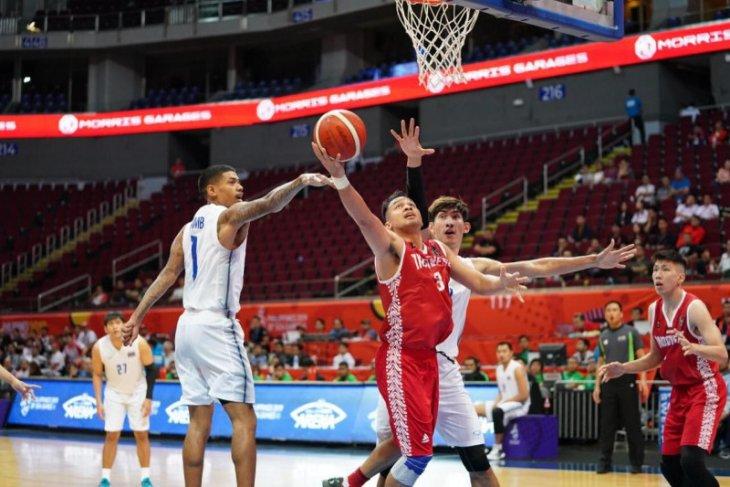 Basket putra Indonesia taklukkan Kamboja 100-71