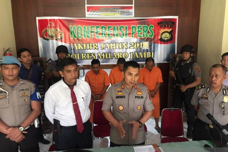 Polres Muarojambi tangkap PNS terkait narkoba