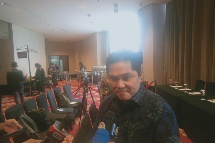 Menteri BUMN Erick Thohir tidak permasalahkan swasta produksi avtur
