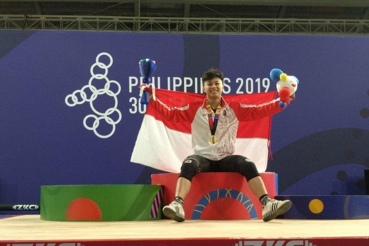 Rahmat Erwin jadi penutup manis angkat besi SEA Games 2019