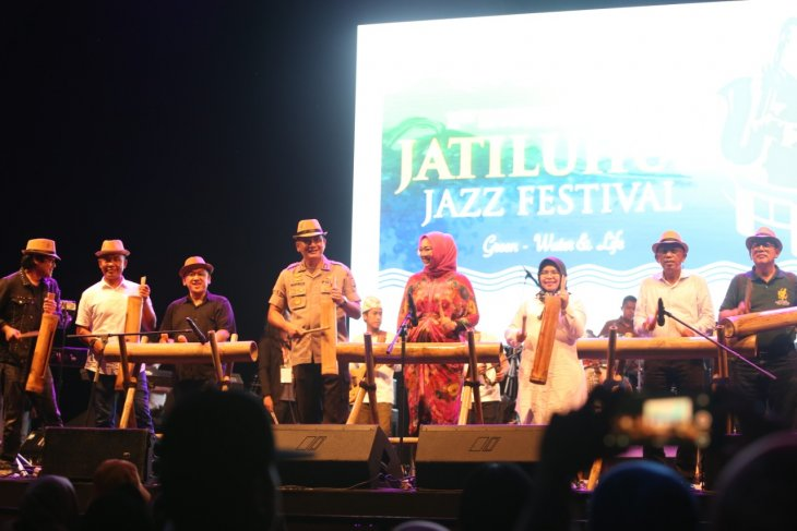 1st International Jatiluhur Jazz Festival 2019 kicks off in style at the Jatiluhur Dam