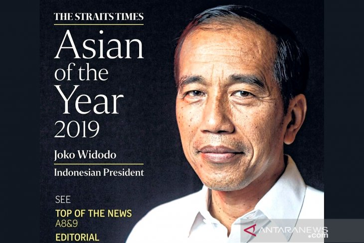 Jokowi :  penobatan Asian of The Year dipersembahkan untuk rakyat Indonesia