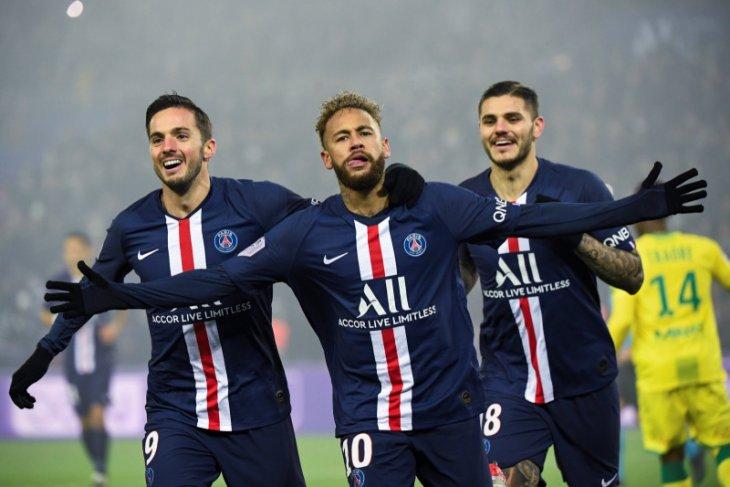 Liga Prancis, tundukan Nantes, PSG kembali perlebar jarak dari Marseille