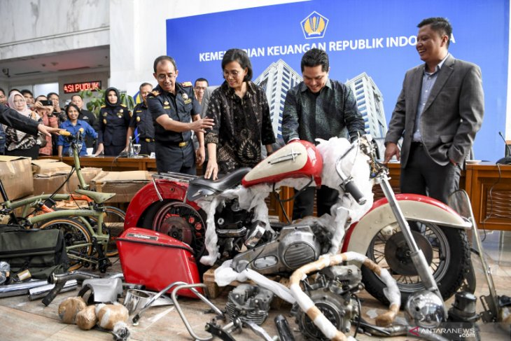 Dirjen Bea Cukai: Kasus Harley di Garuda masuk tahap penyidikan