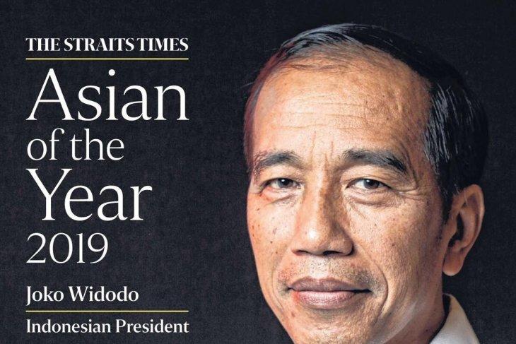 Jokowi dinobatkan