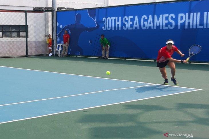 SEA Games 2019, Aldila Sutjiadi raih emas dari tenis