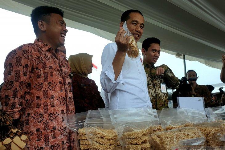 Presiden Jokowi tanggapi penobatan sebagai