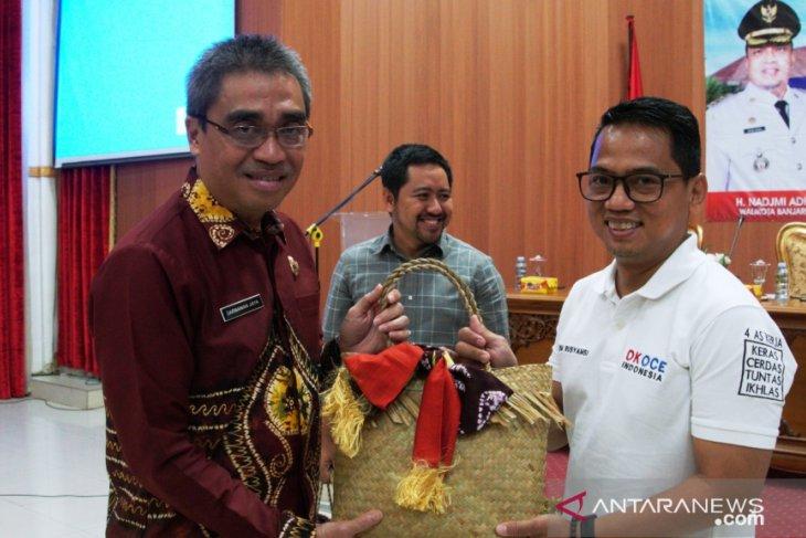 Ok Oce siap bantu UMKM Banjarbaru