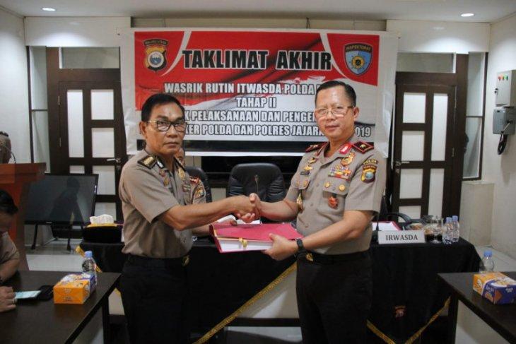 Polda Malut tandatangani  pakta integritas