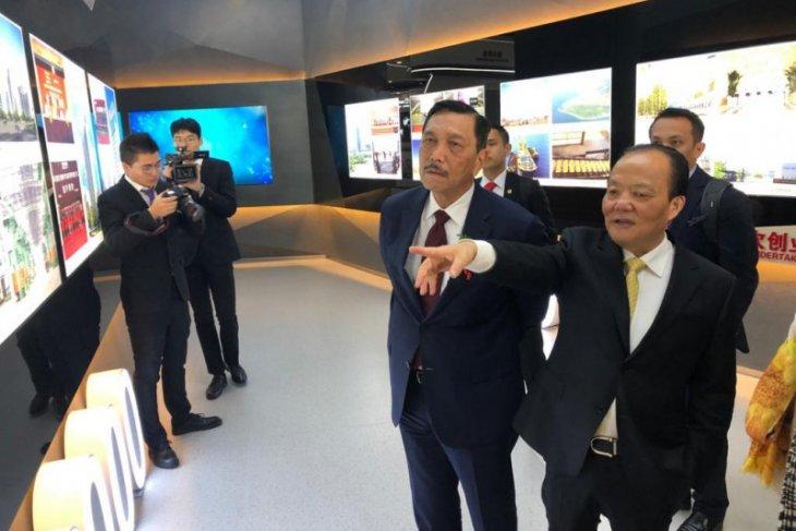 Luhut tawarkan produsen fiberglass terbesar China investasi di Indonesia