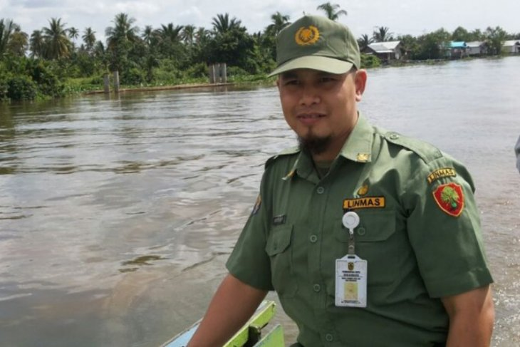 Puluhan anak sungai Banjarmasin sudah dikeruk dan disiring tahun ini