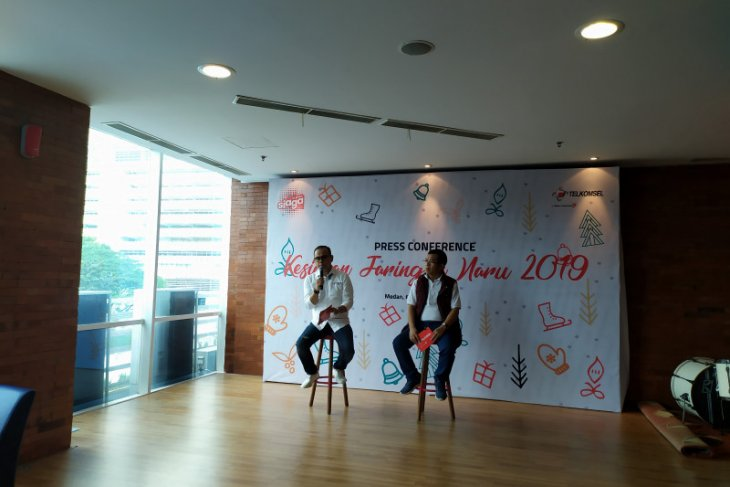 Telkomsel Sumatera prediksi penggunaan data  tinggi di Natal