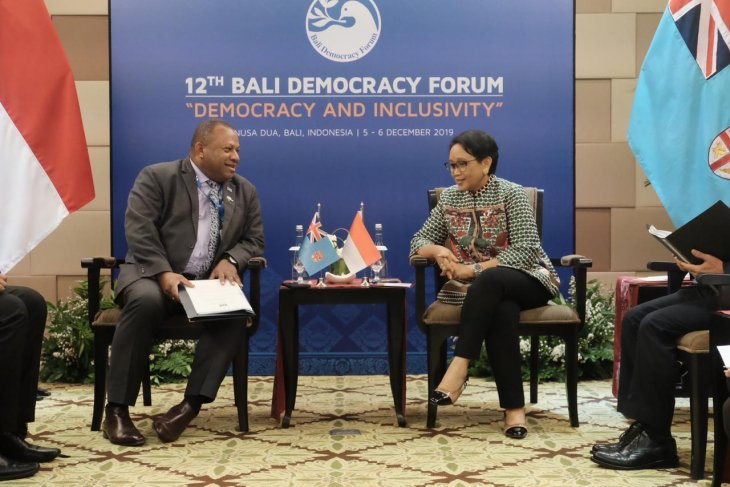Indonesia, Fiji concur on intensifying economic cooperation in Pacific