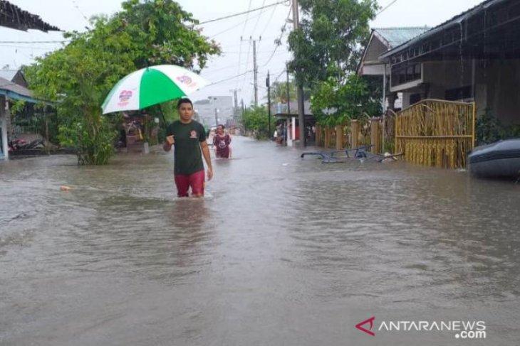 300 rumah di Belitung terendam banjir akibat hujan lebat