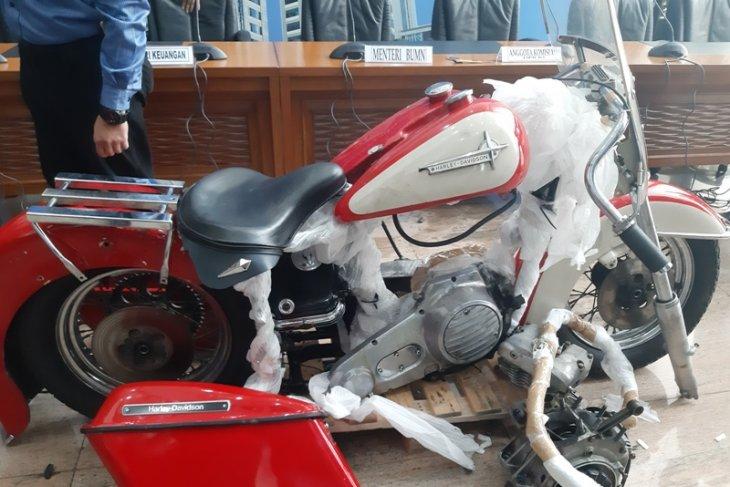 Sri Mulyani heran pembawa Harley ilegal tidak menyukai sepeda motor