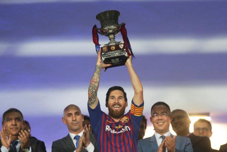 Barcelona akui Messi pensiun tak lama lagi
