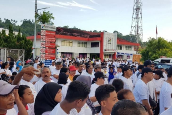 Pertamina MOR VIII gandeng masyarakat jalan santai meriahkan HUT ke-62