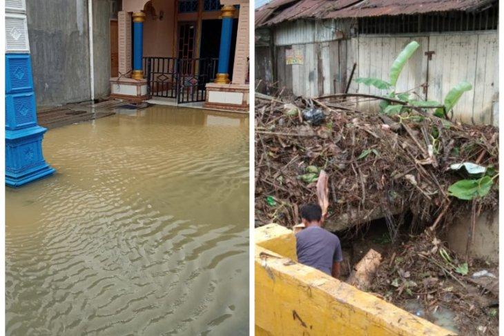 Kecamatan Gebang di Langkat terendam banjir