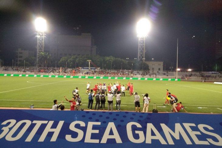 Ketua PSSI sempat was -was lihat permainan Timnas U-22