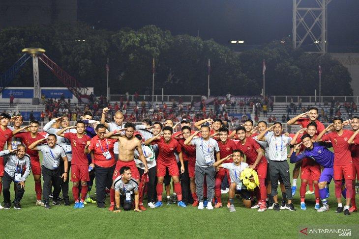 Timnas Indonesia dipastikan hadapi Vietnam di final